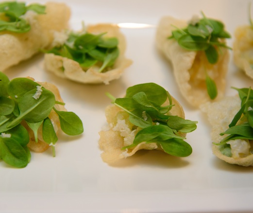 Marinated Scallops with Horseradish and Sorrel